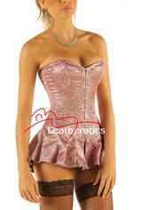 Corseted Skirt Skirted Bustier Steel Boned