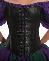 double lace corset - front