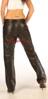 Full Grain leather dress trousers pic 1