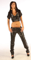 Nappa Leather trousers pic 2