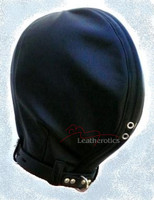 insect hood Leather slave mask