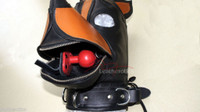 Bdsm leather dog mask pic 4