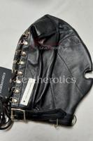 Leather slave mask m4