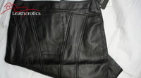 Luxury Real Leather Women's Pencil Skirt uk image 4