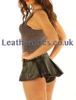 Micro Mini Leather skirt model 1