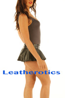 Micro Mini Leather skirt model 3