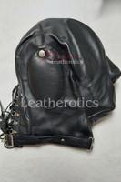 Leather sensory deprivation mask 1