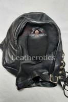 Leather sensory deprivation mask 2