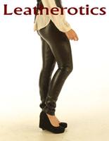 Stretch Natural Leather Leggings STLEGG pic 1