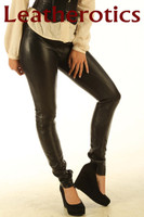 Stretch Natural Leather Leggings STLEGG pic 3