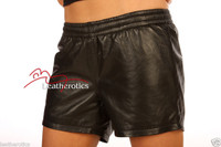 Unisex Leather Boxer Shorts French Knickers FK