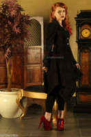 Ladies Coat Gothic Vintage Jacket image 2