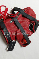 Red Leather Mask M6 3