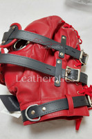 Red Leather Mask M6 4