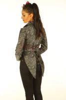 Womens cotton tailcoat