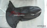 Full Grain Leather Long Line Mask Hood bondage bdsm  image 7
