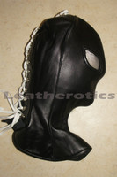 Full Grain Leather Long Line Mask Hood bondage bdsm  image 5