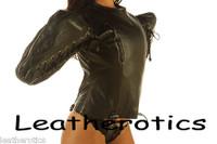 Bondage leather Bodybag Arm Wing Binder