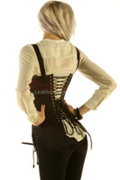 Strapped Halloween Witch Corset  image 3