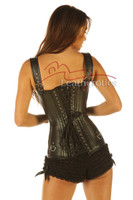 Lacing Gothic style corset