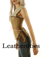 best online shop for leather overbust corsets, UK's leather overbust corset suppliers, we offer high quality overbust leather corsets.