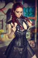Leather Corset 1836 Perforated