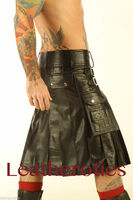 Full Grain Leather Kilt 1 - side