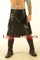 Full Grain Leather Kilt 1 - front