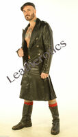 Full Grain Leather Kilt 1