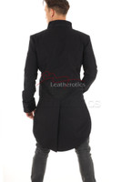 Mens Jacket with Embroidery Black STP7 2