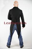Velvet Vintage Victorian Tail Coat  from the back