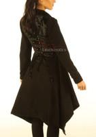 Victorian Steampunk Ladies Coat pic 2