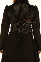 Victorian Steampunk Ladies Coat pic 3