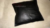 leather cushion covet
