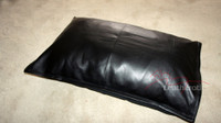 Top Grain Soft Supple Leather Pillow Case Cushion Cover