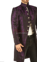 Steampunk gothic vintage mens coat pic 4