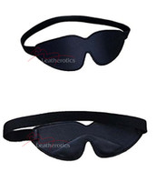 Velvet Blindfold Padded Eye Mask Hood
