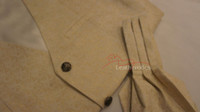 Mens Waistcoat Vest Brocade Gothic Steampunk Wedding Paisley Luxury 3