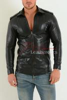 Mens Fine Leather Shirt  2