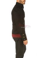 Men's Steampunk Military jacket - side