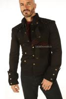 Men's Steampunk Military jacket - details