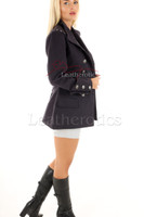 Women's Steampunk Military Jacket Fitted 2