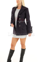 Women's Steampunk Military Jacket Fitted 1