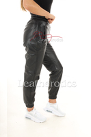 Ladies Real Leather Jogging bottom 54