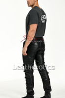 Men's Soft Leather 512 Trousers - Back