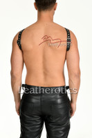 Mens leather harness 3