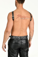 Mens leather harness 4