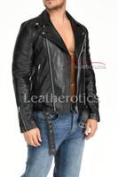 Men's Leather Jacket - 7