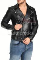 Men's Leather Jacket - 3