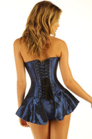 Corseted Skirt Skirted Basque Steel Boned back lacing